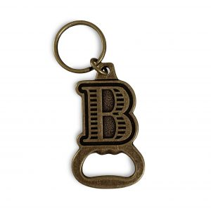 Brickers Cider Company Bottle Opener Keychain