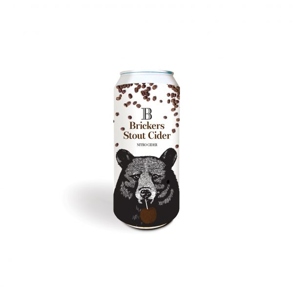 Brickers Cider Company Stout Cider