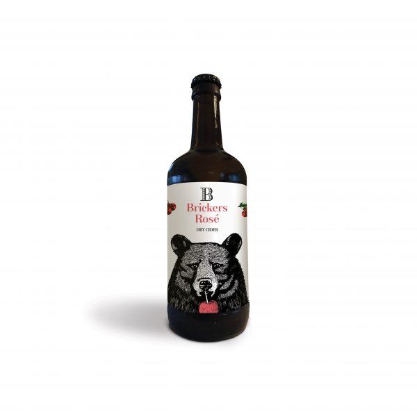 Brickers Rose Cider
