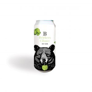 Brickers Cilsner Dry Cider Cans